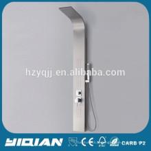 Painel de chuveiro de aço inoxidável de parede termostática CE