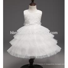 Nouveau-né anniversaire vêtements fleur baptême robe de balToddler filles princesse robes de baptême pour bébé fille 1 an fête d'anniversaire