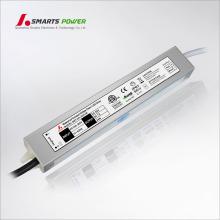 Китай поставщиком небольшой водонепроницаемый источник питания 24В, 1А, 24вт драйвер для светодиодные лампы