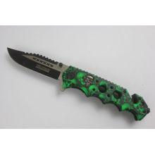 Cuchillo plegable del acero inoxidable (SE-1015)