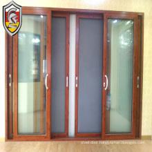 Kesenbao double glazed aluminium sliding doors with net