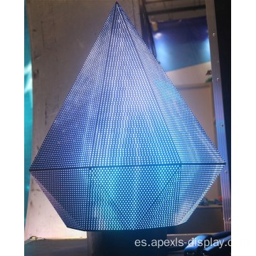 Pantalla led triangular P3