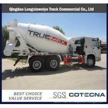 Camión pesado del mezclador concreto del camión de Beiben y de HOWO
