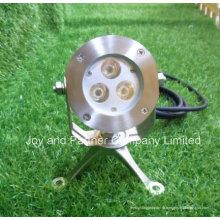 6W CREE светодиодный подводный свет пятна с кронштейном из нержавеющей стали (JP95132)