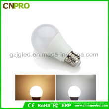 La mejor lámpara de la base del bulbo E27 de la calidad 9W LED