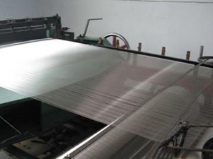 Wire Mesh Stainless Steel dengan 25mm lubang