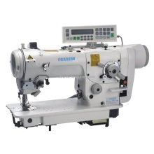 Máquina de costura Zigzag controlada por computador