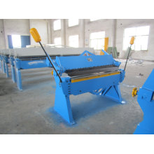 Wh06-2.5X1220 Manuelle Art Stahlplattenfalten und Biegemaschine