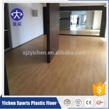 Le bois de Yichen aiment le plancher de sport de plancher de mousse de PVC