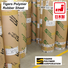High quality rubber sheet made from different plastics by Tigers Polymer. Made in Japan (0.3 mm silicone rubber sheet)