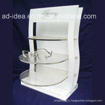 Hot Sale White Customized Acrylic Stand with Logo Printed
