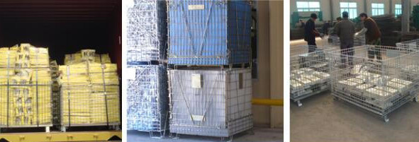 Welded Mesh Storage