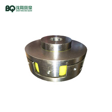 Acoplamento flexível de eixo para motor de guincho de passageiro