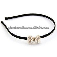 Fashion Bow Tie Pearl Hairband Accessoires pour les filles HB17