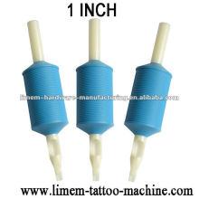 Silikon-Tätowierungs-Wegwerfgriff / Tätowierungsgummigriff tatuaje agarre de Goma