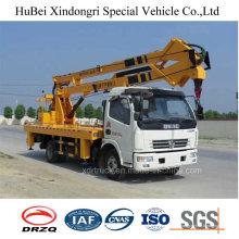 Modelo popular de 18 m Dongeng Aerial Platform Truck