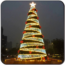 Led arbre de Noël artificiel avec ornements