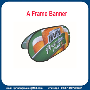 Stoff horizontale Pop-up-Display-Banner