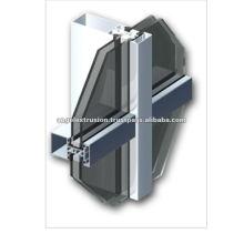 Aluminium-Strangpressprofil für Vorhangfassade
