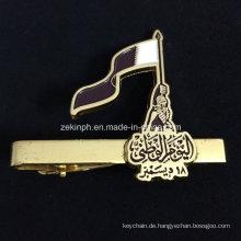 Custom Gold Flagge Deichsel für Business-Geschenk