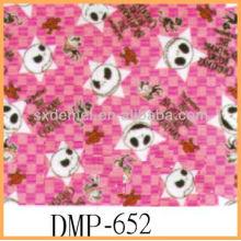 Star print canvas fabric luxurious fabric