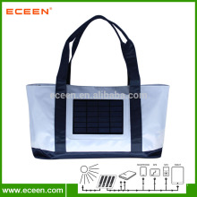 Best selling Solar beach bag with removable solar charger