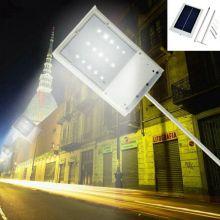Lampe solaire à LED 15 Panneau solaire alimenté par LED Éclairage de rue à LED Luminaire de jardin extérieur Spot Spot Lampadaire d'urgence Luminaria