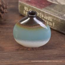 Metal Glazed Ceramic Oil Perfume Bottles