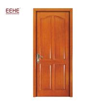 Porta de madeira da separação do painel da madeira do projeto da entrada da parte alta da parte alta da casa de campo