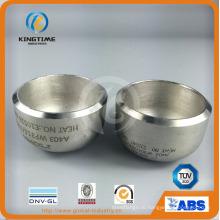 ASME Wp304 / 304L Ss стальной крышкой патрубок с OEM службы (KT0074)