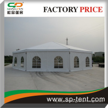 New Product Waterpoof polygon tent for sale with sidewall