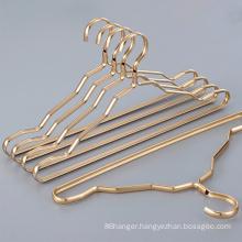 Assessed Supplier PENGFEI Custom aluminum gold hanger for clothes
