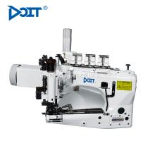 DT-35800 Differenzialspeisung 3-Nadel Kettenstich Jeans Nähmaschine mit mechanischem Abzieher
