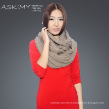 2015 hot selling handmade knitted scarf