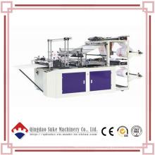Línea de fabricación de máquinas de bolsas de plástico de doble capa