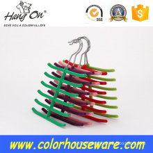 Tie and belt flocking hanger