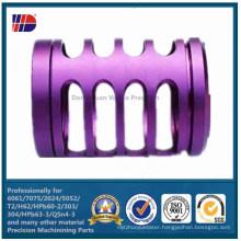 Precision Anodized CNC Machine Part (WKC-349)
