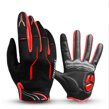 Breathable Anti-Slip Cycling Gloves Gel Touch Screen High Speed Riding MTB Bike Motorcycle Glove