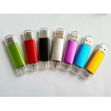 Ept 2 en 1 Plastic OTG USB Pendrvive