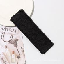 Microfiber Sport Headband Embroidery Logo Yoga Headwear For Women
