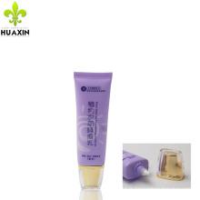 Emballage en plastique de conception d'emballage crème crème cosmétique tube airless