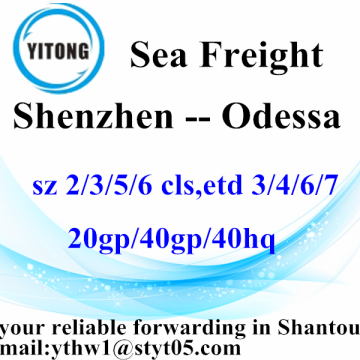 Shenzhen Shipping Services d'expédition de fret à Odessa