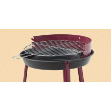 Outdoor Barbecue Grill with Round Shape