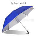 Grand parapluie de golf pliant