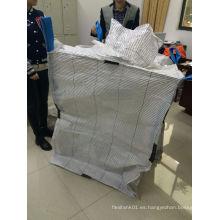 Conductivo FIBC grandes bolsas para el embalaje de polvo de hierro de fósforo