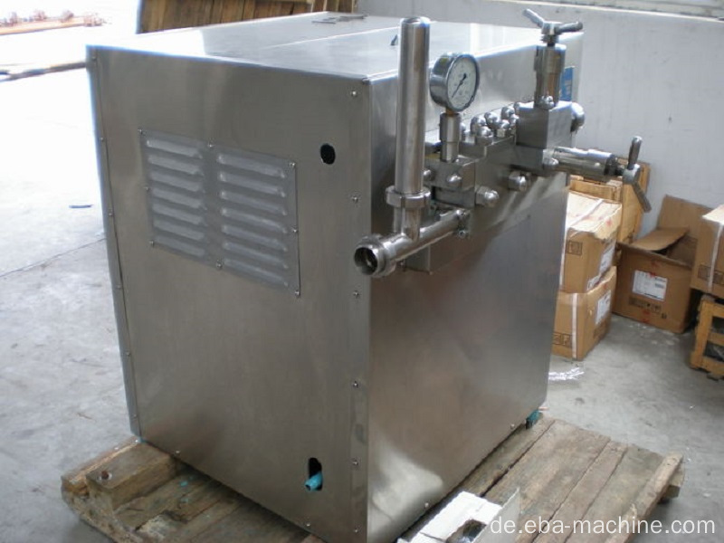 High Efficiency Hochdruck Milch Saft Homogenisator
