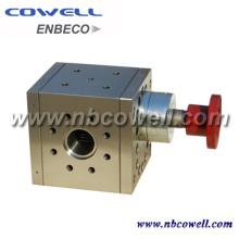 Pompe à fusion pour barillet à vis d'extrudeuse