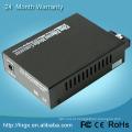1 porta de fibra 2 RJ45 stm-1 para conversor ethernet