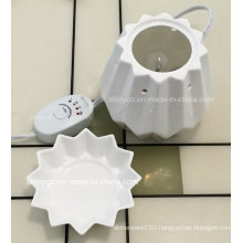 Electric Translucent Fragrance Lamp Warmer with Temperature Adjustment