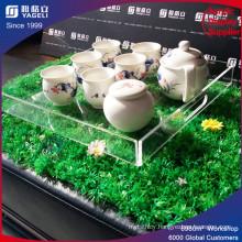 New Fashion Design Acrylic Coffee Tea Tray